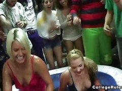 Hawt college pretty girls getting fucked all around!