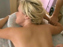 Massuer is having fun famous hawt sweetheart a sensual rub-down