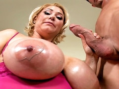 Gorgeous cosset regarding big soul sucking and property drilled hard